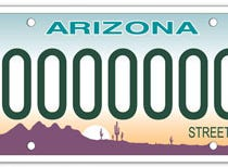 The Arizona street rod specialty license plate is available only for vehicles that have a body design which retains at least the basic original style as manufactured in 1948 or earlier.