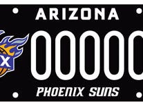 Arizona Phoenix Suns specialty license plate