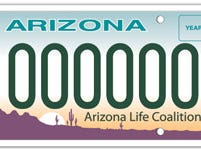 Arizona Life Coalition specialty plate