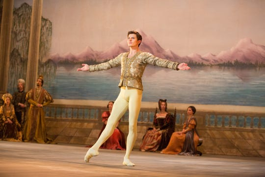 """Oleg Ivenko plays Rudolf Nureyev in """"The White Crow."""""""