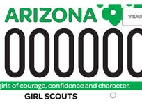 Arizona Girl Scouts specialty plate