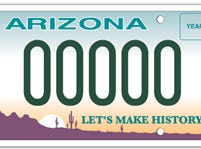 Arizona Historical Society specialty plate
