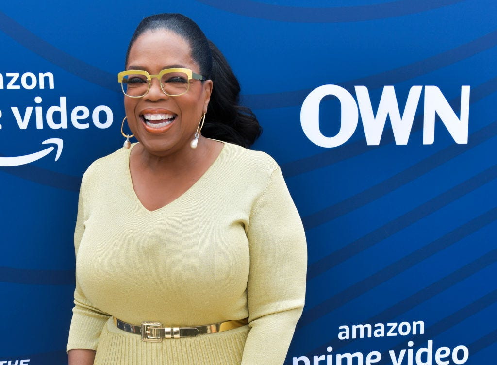 Oprah surprises New Jersey students with $500K donation, pizza party