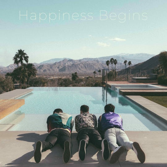 "Jonas Brothers ""Happiness Begins"" album art"
