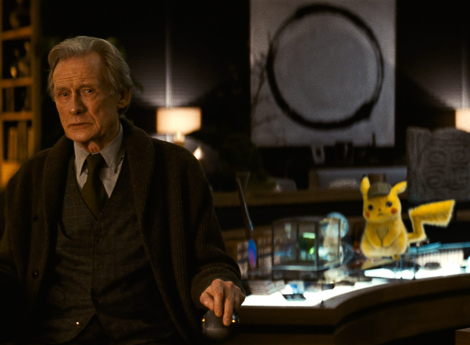 "Howard Clifford (Bill Nighy) traveled all over the world in ""Pokemon Detective Pikachu"" to search for a cure to a disease that affected his ability to walk."