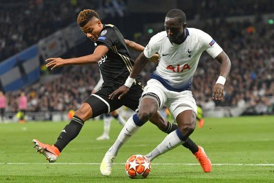 Un juego muy cerrado disputaron Ajax y Tottenham en la Liga de Campeones.