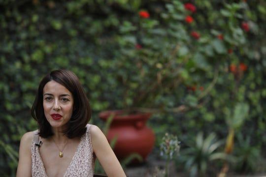 La actriz mexicana Cecilia Suárez  habla hoy viernes 26 de abril de 2019 durante una entrevista para la agncia efe en Ciudad de México (México)