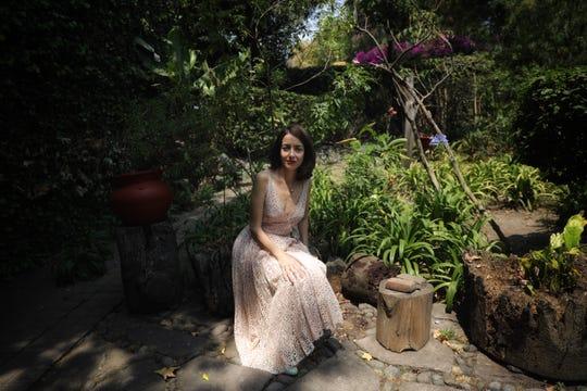 Cecilia Suárez  habla hoy viernes 26 de abril de 2019 durante una entrevista para la agncia efe en Ciudad de México.