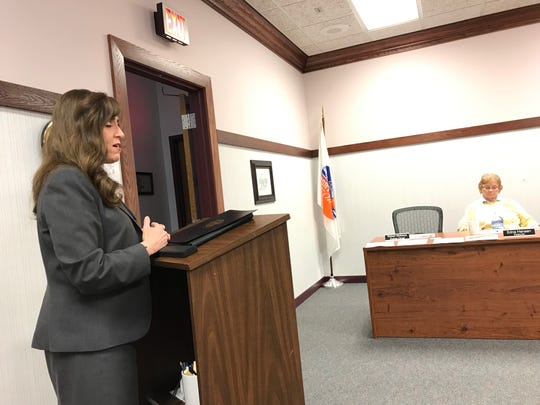 State Sen. Theresa Gavarone speaks with Port Clinton City Council about legislation being worked on at the state level.