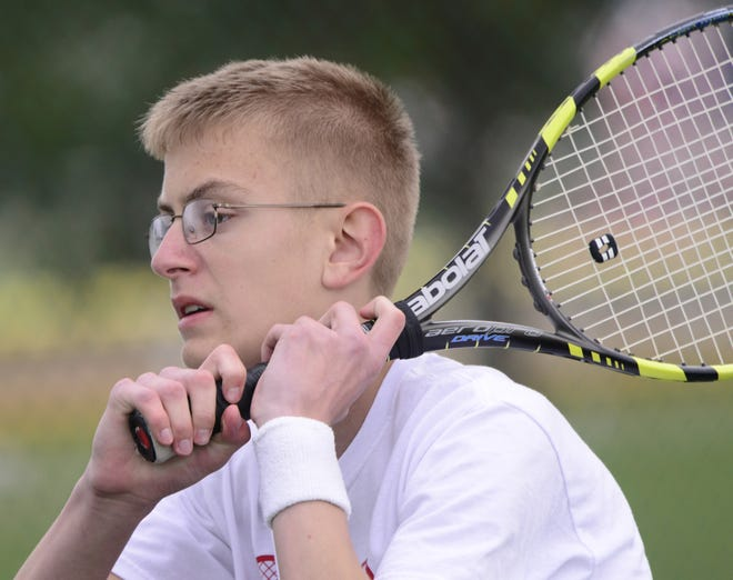 Port Clinton's Andrew Fillmore played at No. 1 singles from the time he was a freshman.