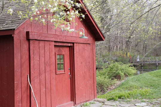 The mill house at The Dutchess in the Township of Clinton on April 25, 2019. The mill house is used as a meeting space and overlooks a creek that flows through the property.