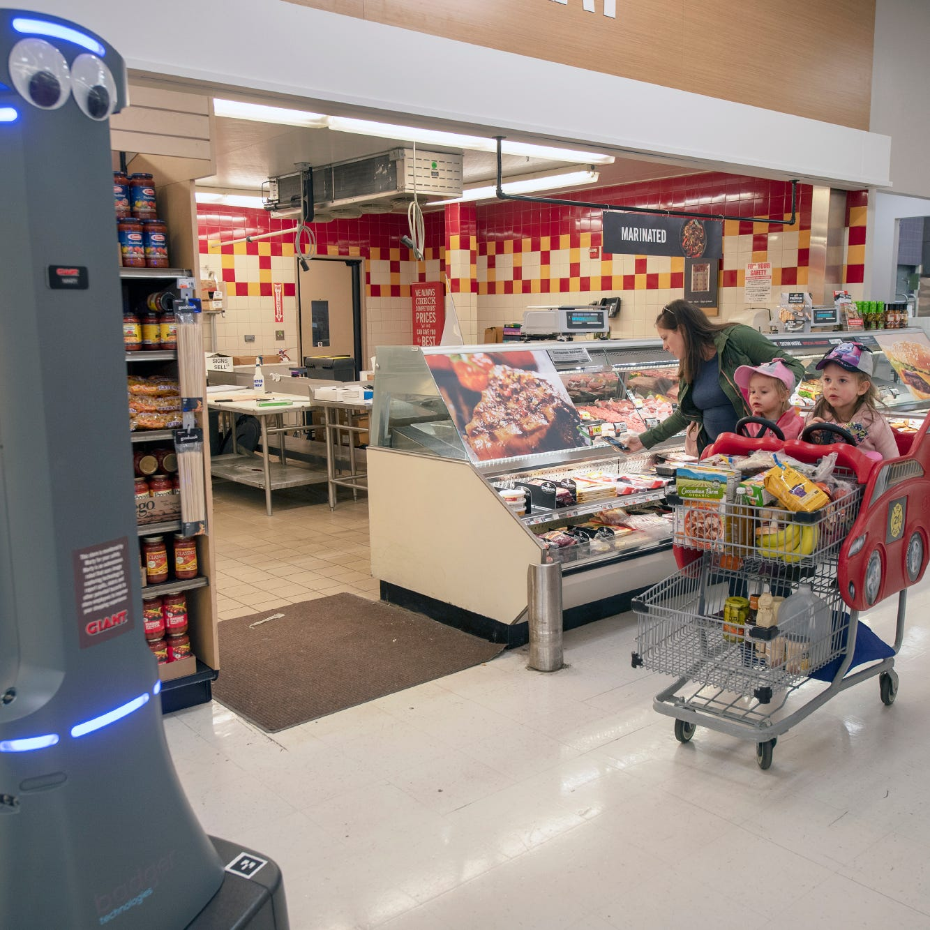 Robot workers in grocery stores? They're here, and we're still learning to live with them.