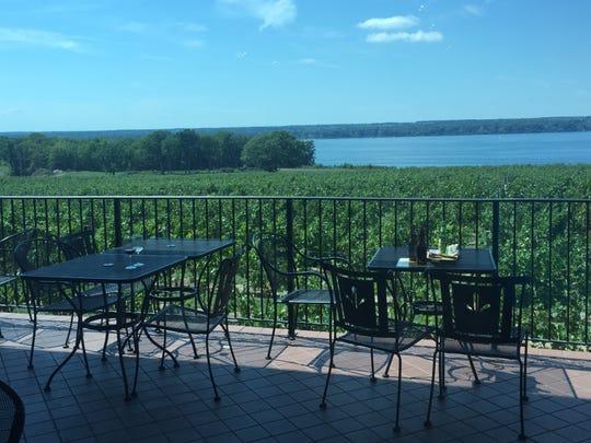 Ventosa Vineyards overlooks Seneca Lake.