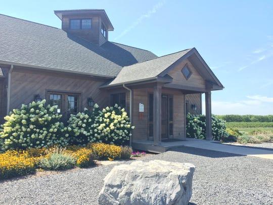Zugibe Vineyards overlooks Seneca Lake.