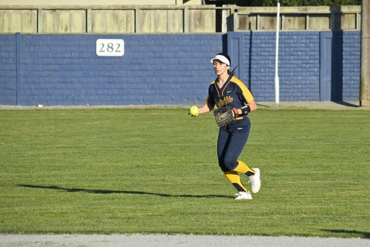 Notre Dame's Victoria Cervantes won her second Athlete of the Week award this spring season after a pair of great performances from the plate and in the  field last week.