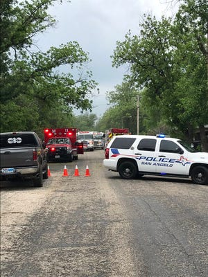 First responders are dealing with a structure fire in the 2000 block of Guadalupe Street on Tuesday, April 30, 2019.