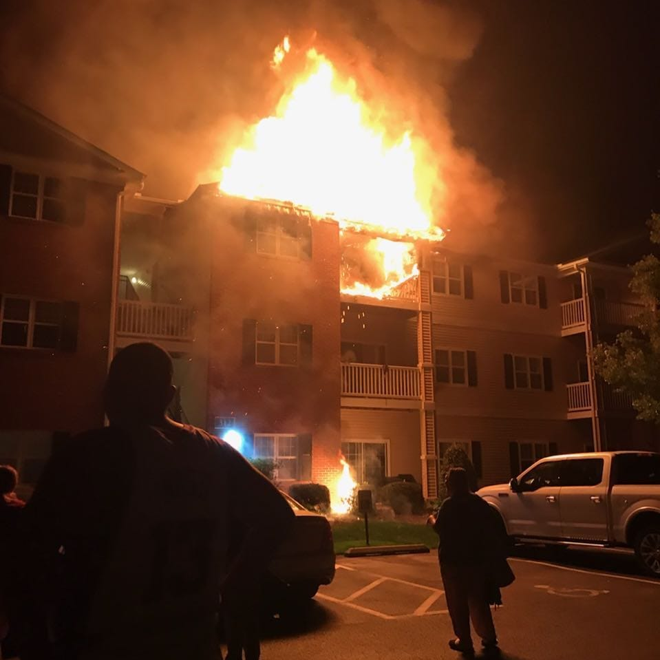 Overnight fire at Mill Pond Village Apartments: 35 people displaced, $500K in damage caused
