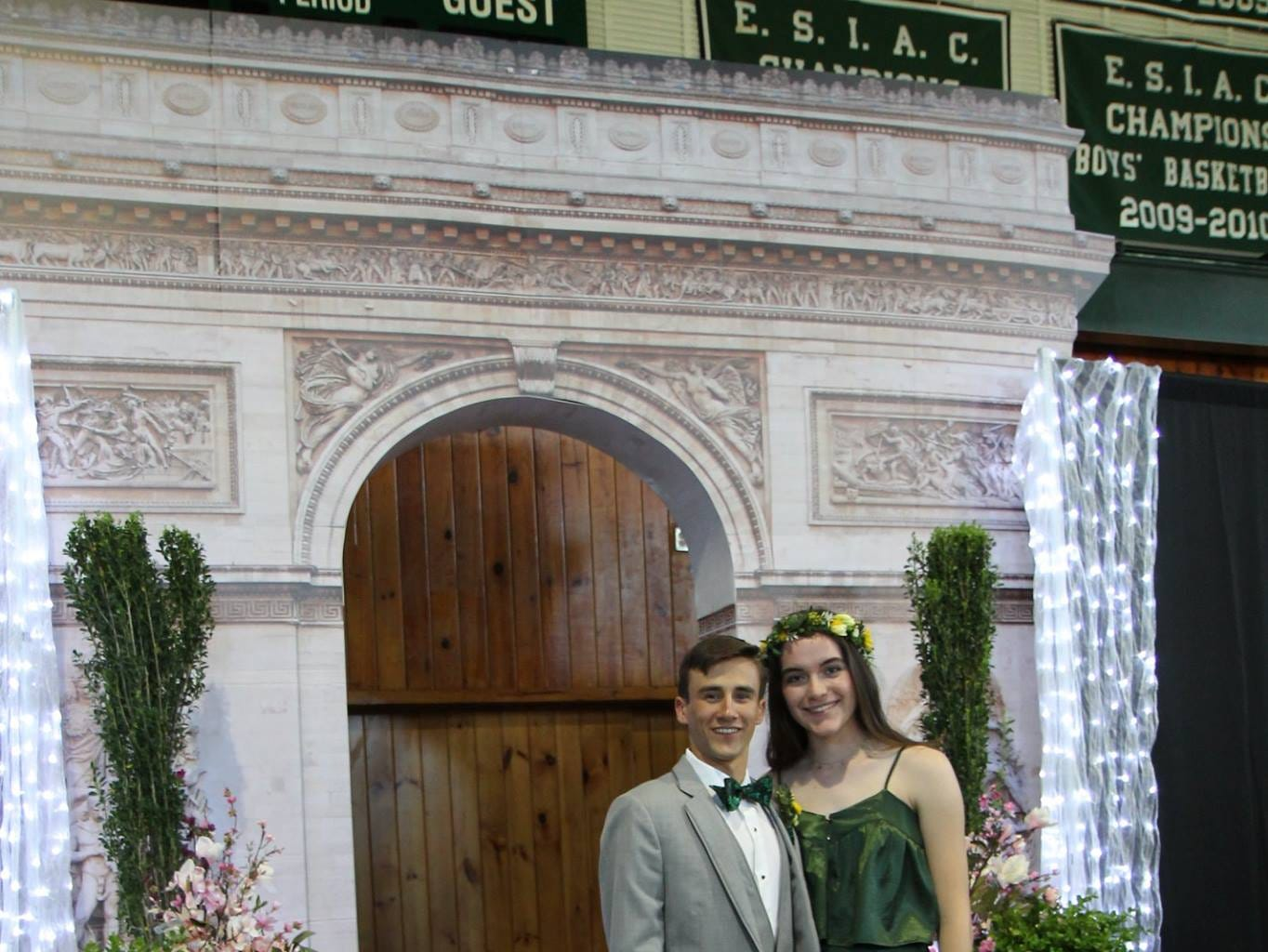 """The Salisbury School's prom was an evening of glamour and elegance under the theme of """"A Night in Paris"""" on Saturday, April 27, 2019."""