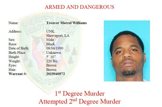 WANTED: Treavor Marcel Williams