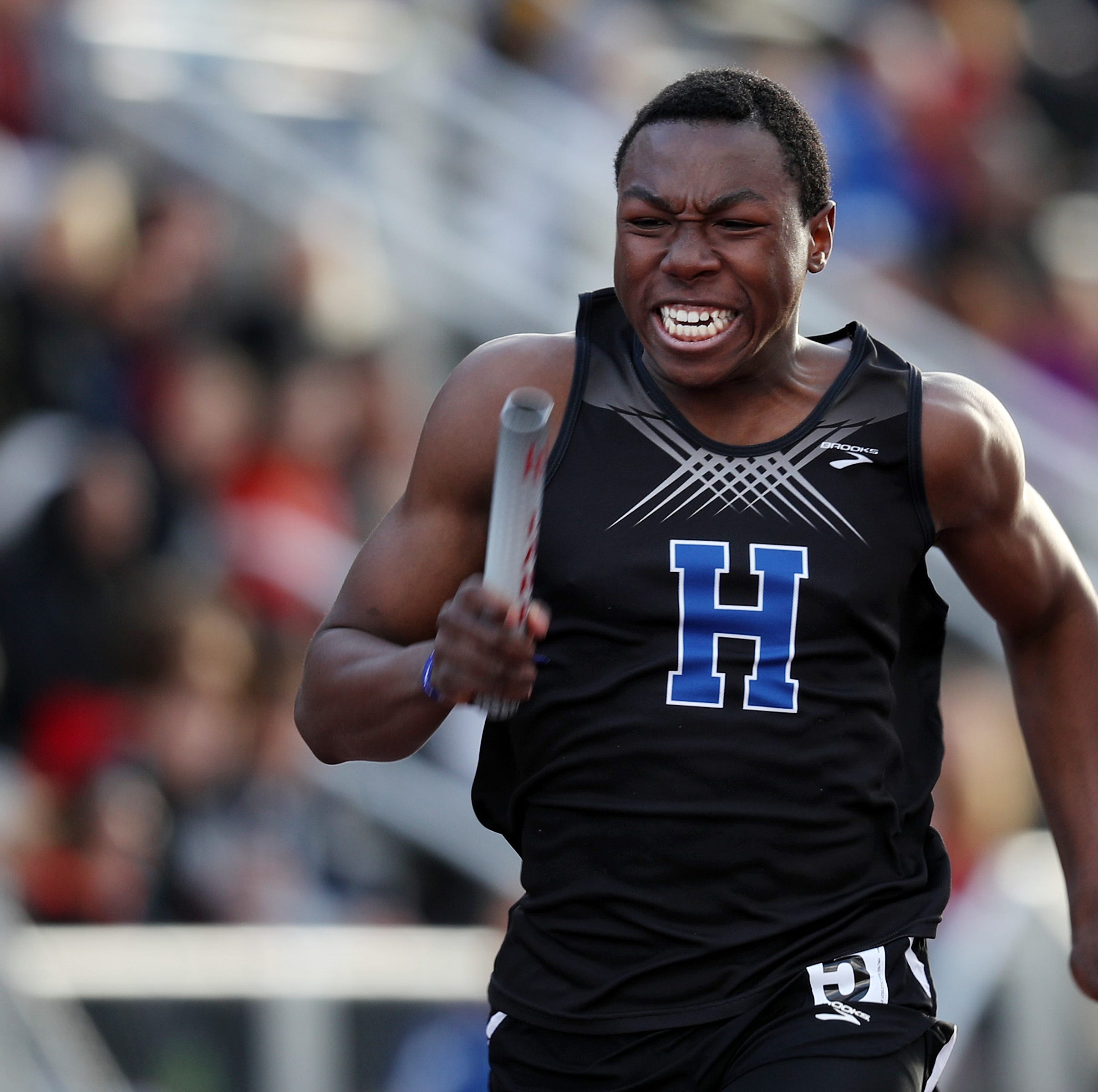 Howard Wood Dakota Relays: Hopkins sprinter soars into boys special event