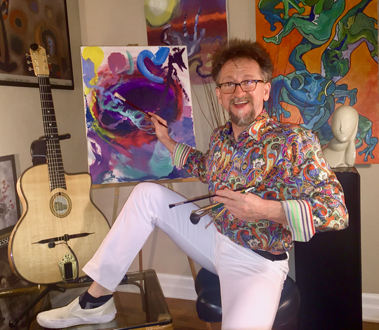 Andy Havens will play a special set at Artsfest this weekend featuring Johnny Strickler and Heather Holz, featuring 70s and 80s alternative rock and Andy's original tunes.