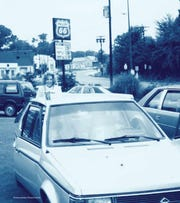 When Russell Cellular first started, founder Jeff Russell and his wife Kym worked door-to-door from their Dodge Omni. The car was like a mobile store.