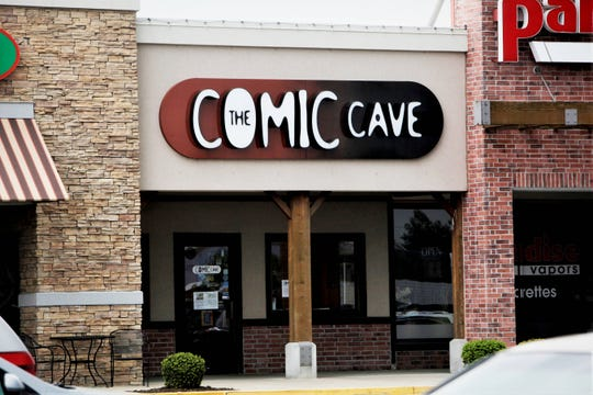 The Comic Cave is going out of business, according to the owner.