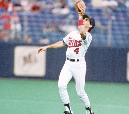 Former Twins second baseman Steve Lombardozzi made six errors and turned 102 double plays for a .991 fielding percentage in 1987, when he was a key member of the 1987 World Series champions.