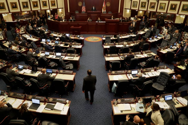 The Florida House of Representatives in session Tuesday, April 30, 2019.