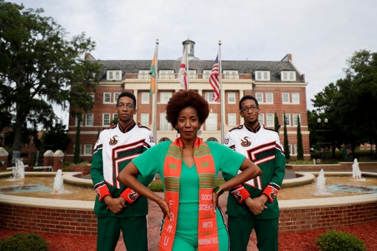 Madelyn McClarey will graduate from Florida A&M University this Saturday, May 4 with a degree in English with a minor in education. Her twin sons, Aaron and Aubrey Hough, both earned scholarships to FAMU which lead McClarey to take a leave of absence from her job and come to Tallahassee to go to school with them.