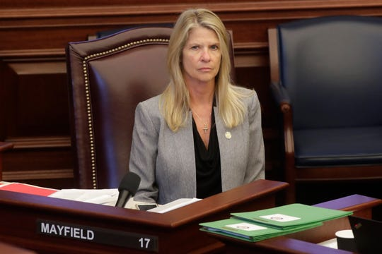"""This bill does not take us backward anywhere in the process, it takes us forward,"" said Sen. Debbie Mayfield."