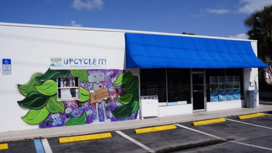 The Upcycle Store maintains a teacher's section where school supplies, project materials and an assortment of schoolroom items are free for local teachers.