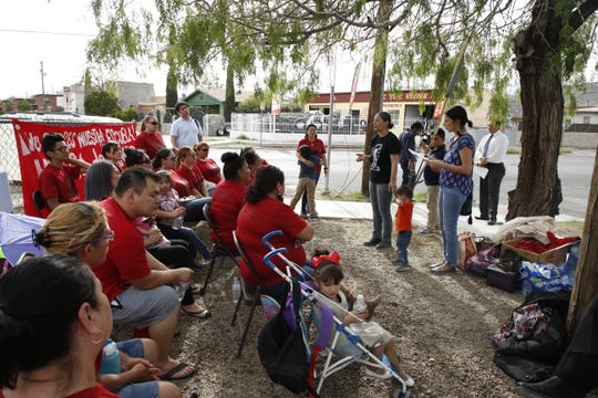 Parents of children who attend Beall and Burleson Elementary Schools began a hunger strike over the El Paso Independent School District's plans to close the campuses.