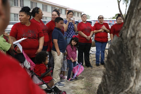 Parents of children who attend Beall and Burleson Elementary Schools began a hunger strike on Monday over the El Paso Independent School District's plans to close the campuses.
