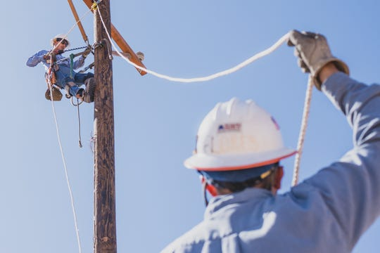 EPE works year-round to minimize interruptions to customers' power and keep up with demands.