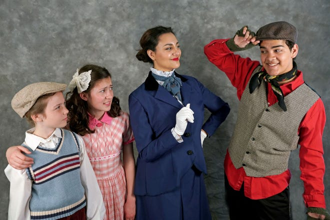 """The Young Artists Ensemble will present Disney and Cameron Mackintosh's """"Mary Poppins, Jr."""" running May 3-19 at the Hillcrest Center for the Arts in Thousand Oaks."""
