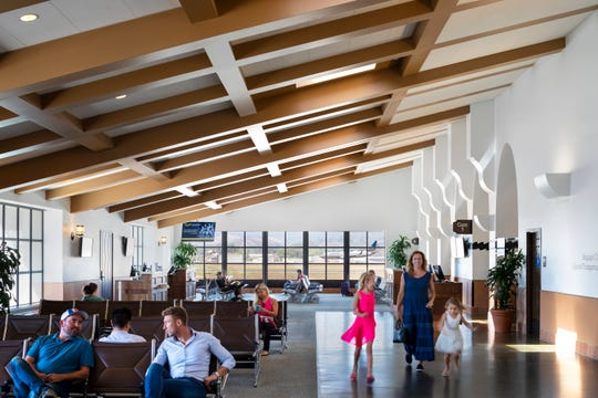 Santa Barbara's low-key terminal disguises the fact that the airport now hosts four major airlines and offers non-stop flights to 12 destinations, many of which are to key airline hubs.