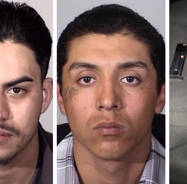 Alleged Oxnard gang gathering busted up; 6 arrested and 2 guns seized