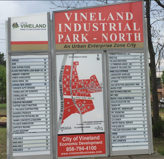 Vineland contractor relocating in industrial park