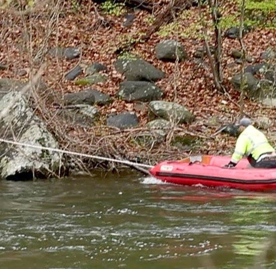 DPW worker rescued from Croton River after boat capsizes