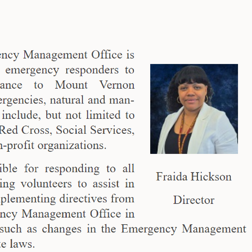 Mount Vernon parking commissioner Fraida Hickson used someone else's credit for plastic surgery