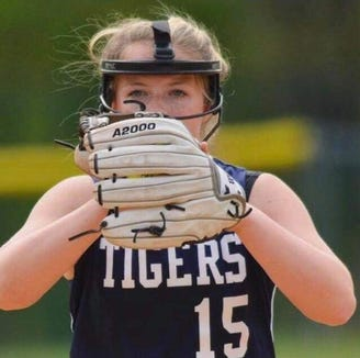 Putnam Valley's Emily McKenna was named the lohud softball Player of the Week on April 30, 2019.