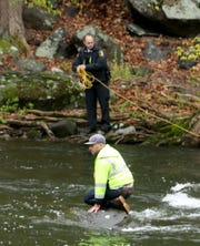 A Croton Department of Public Works employee was rescued from the Croton River off of Silver Lake Park April 30, 2019. John Munson, assistant chief of the Croton Fire Department, said that three DPW workers were in a small boat performing routine maintenance on the river when their boat capsized. Two of the men were able to make it to shore unassisted, while one of the men became stranded on the river. He was eventually pulled to shore on a raft. None of the men sustained injuries.