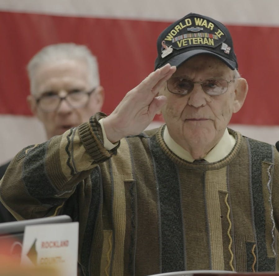 Rockland veteran featured in Discovery Channel documentary 'Liberation Heroes: Last Eyewitnesses'