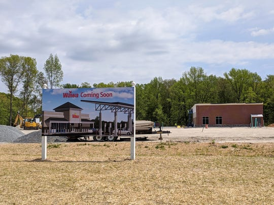 Construction will begin soon on a new Wawa at the corner of Wrangle Hill and Red Lion road.