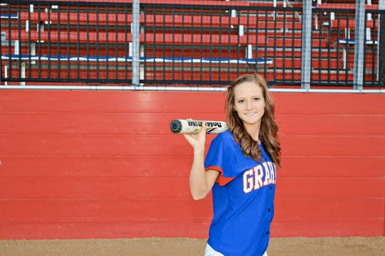 Candice Martin was tragically killed in a car wreck five years ago. Her cousin, Morgan Patterson, is carrying on her memory on the softball field, wearing Martin's No. 6 jersey.