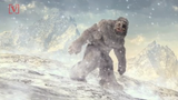 """The Indian Army says that it has apparently found footprints of a Yeti, also called the """"abominable snowman."""""""