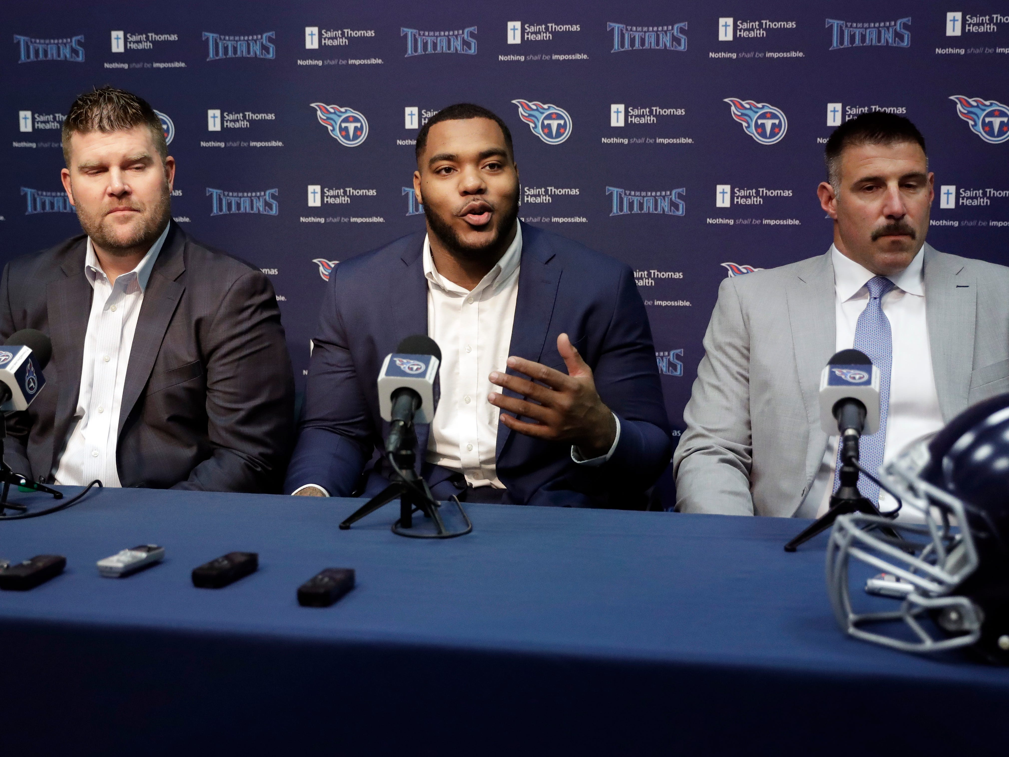 20. Titans (21): GM Jon Robinson seemed to nail draft. But, with first-rounder Jeffery Simmons likely to redshirt, could this be a 9-7 team for fourth straight year?