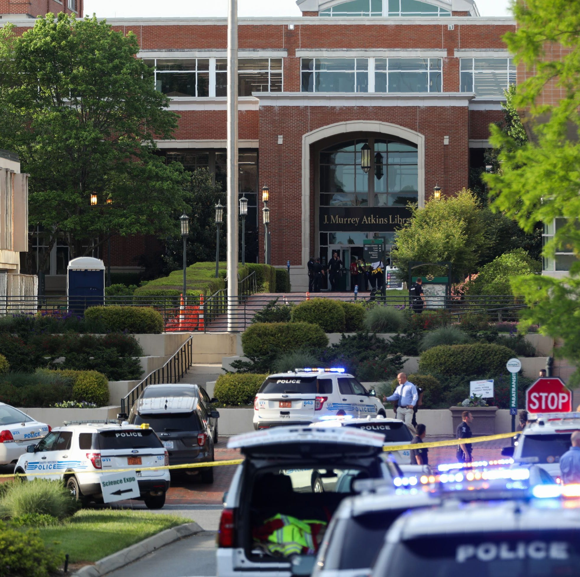 UNC Charlotte shooting suspect is a 22-year-old former student who majored in history