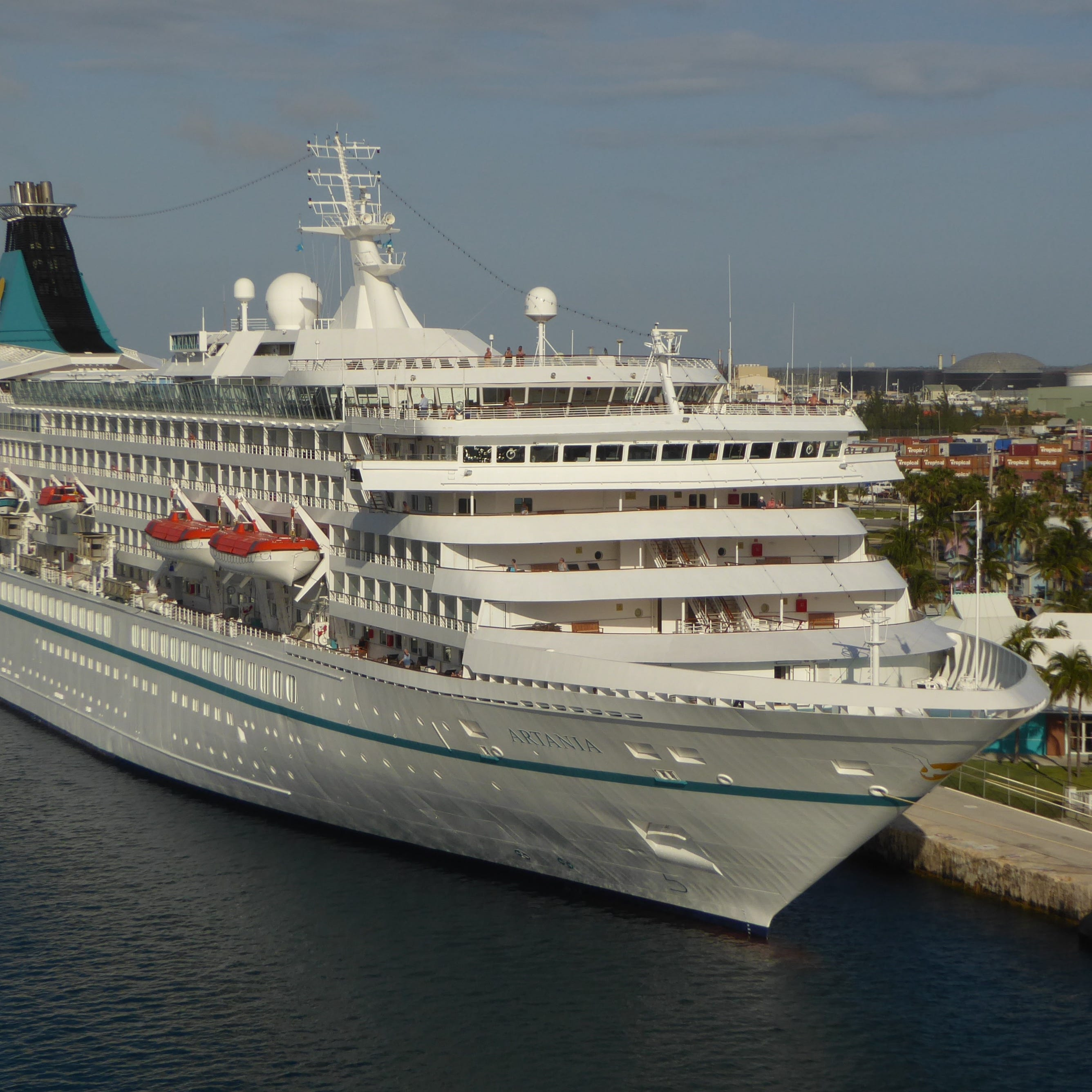 Phoenix Reisen's 1,200-guest Artania is now one of the oldest active cruise ships in the world but was so advanced for its time when built (as Princess Cruises' first Royal Princess) that it fits in nicely with today's cruise fleet.